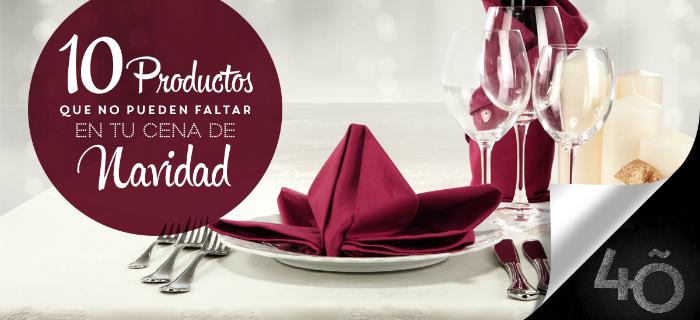 10 productos fundamentales que no pueden faltar en tu cena de Navidad - Lotes de España