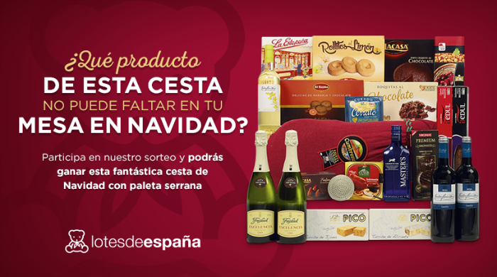 Sorteo Cesta de Navidad Lotes de España